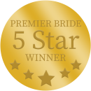 Premier Bride 5 Star Winner